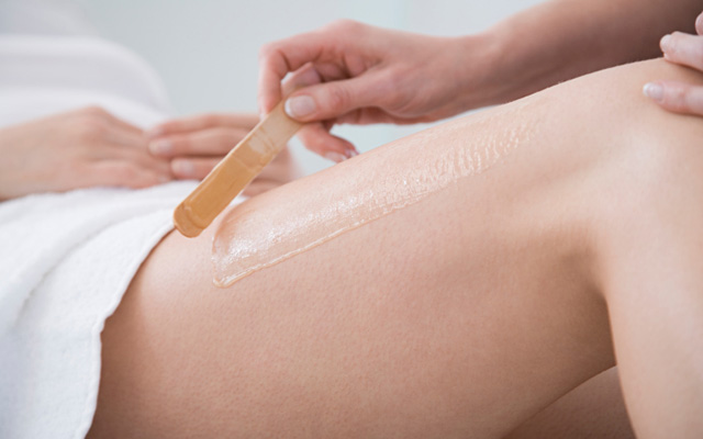 procedure for brazilian wax