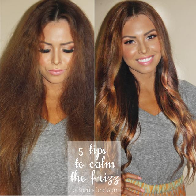 Managing Frizzy Hair